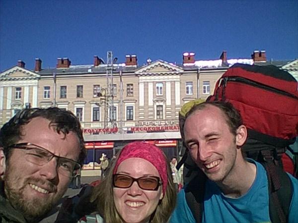 Начало) Финляндский вокзал